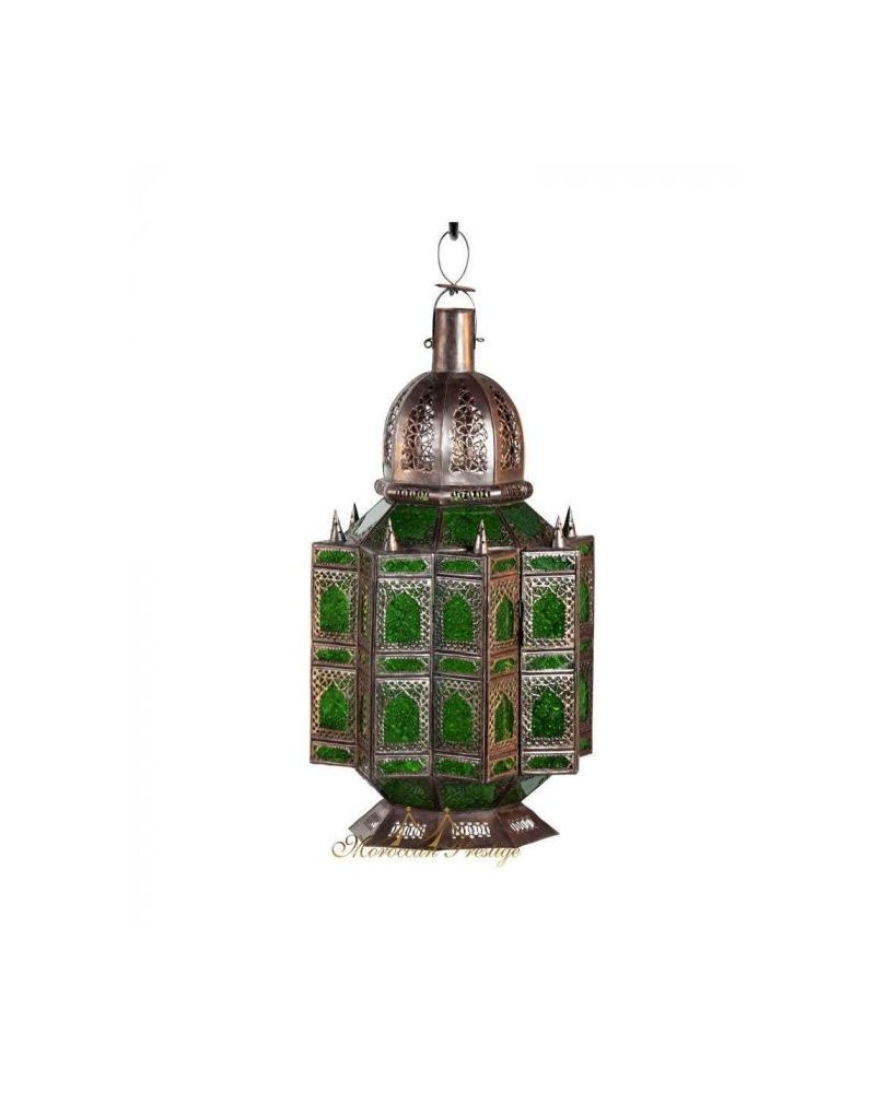 Arabesque Lantern Green