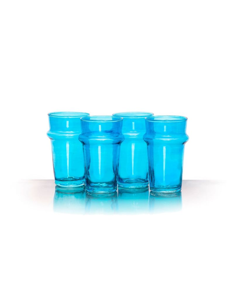Kasbah Lust Blue Tea Glasses