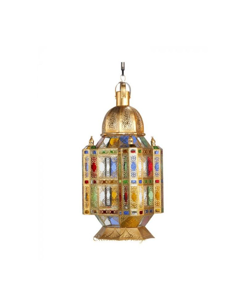 Moorish Lamp Brass