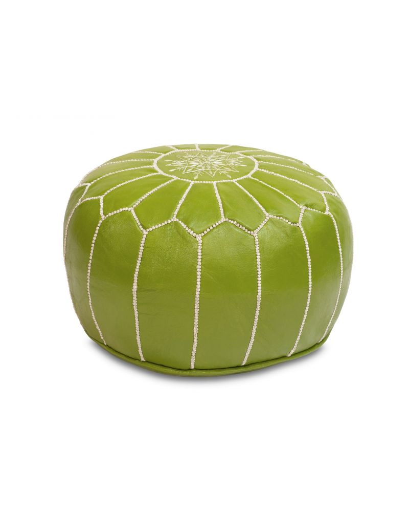 Pistachio Green Pouf