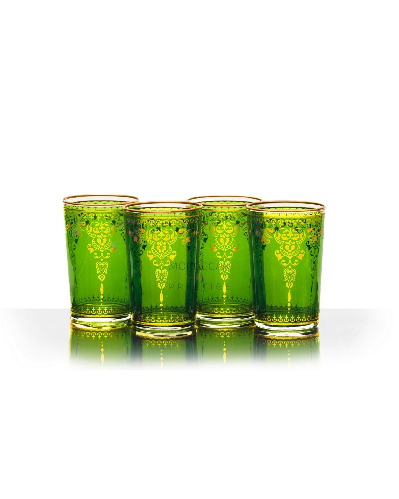 Moroccan Morjana Tea Glasses