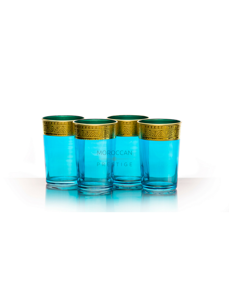 Moroccan Mogador Tea Glasses