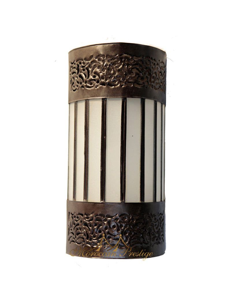 Moroccan Frosty Sconce