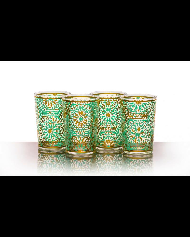 Moroccan Djouba Green Tea Glasses