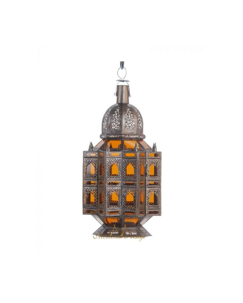 Arabesque Lantern Amber